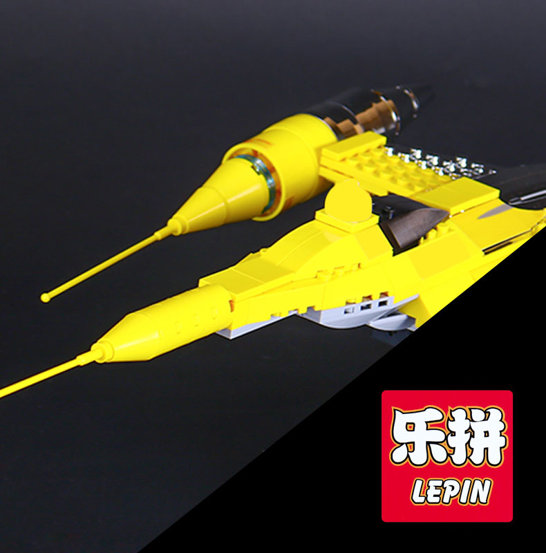 Lepin 05060 Star Series The Rogue Model One USC Naboo Style Fighter Set Building Kits Blocks Bricks Children War Toy Gift 10026