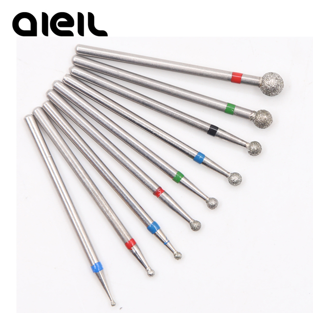 Nail Drill Bit Diamond Electric Milling Cutter for Manicure Electric Nail Drill Milling Cutters for Milling Machine Manicure 1