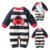 Bebê macacão primavera outono Grossas Escalada Roupas Roupas de Recém-nascidos Meninos Meninas Outwear casaco Quente Camisola De Malha De Natal de uma peça