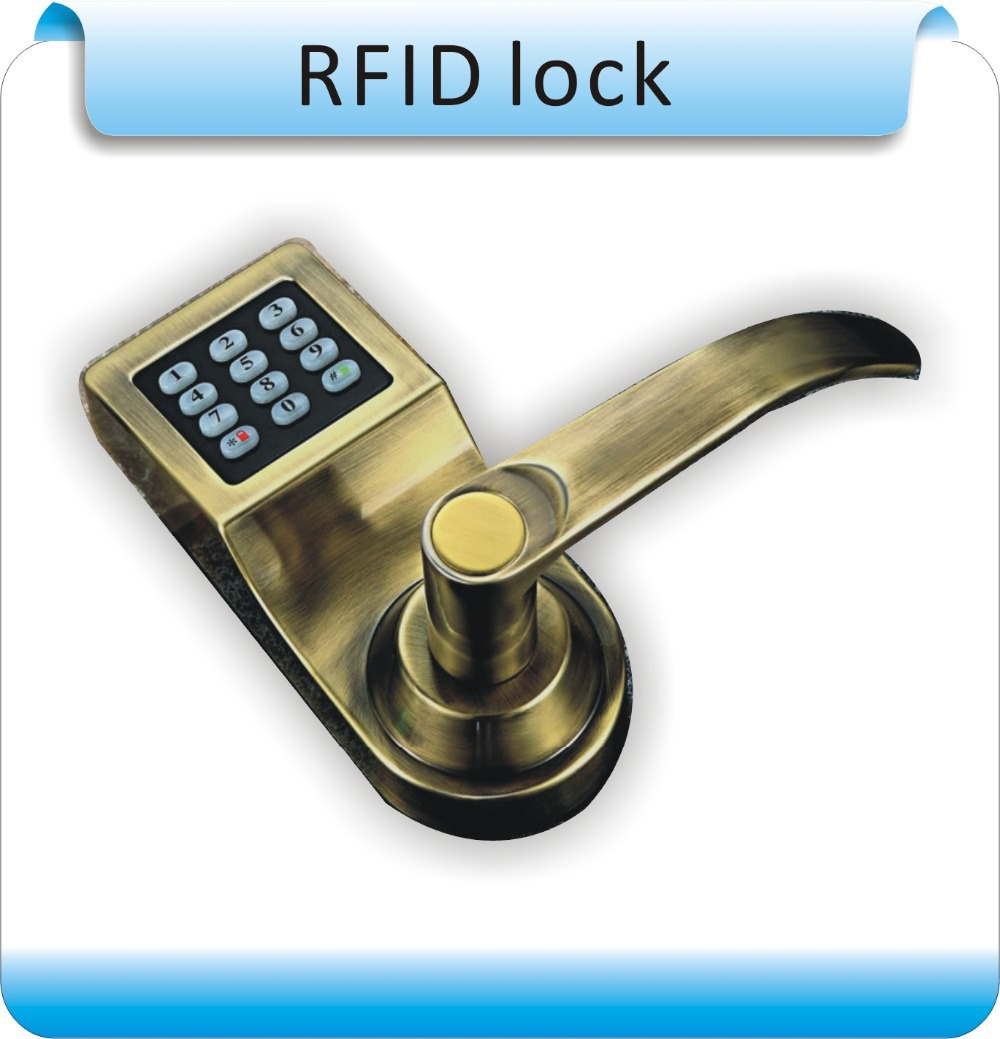ФОТО DIY RFID 125KHZ EM +Keypad Digital Smart Eletronic Door Electric Lock  Access teclado Control for Office/Apartment/Hotel