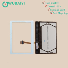 For Samsung Galaxy Tab 2 10.1 GT-P5100 P5100 P5110 Touch Screen Digitizer+LCD Display Monitor Repair Replacement Part цена