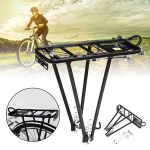 Image 2 - CoolChange bicycle accessories mountain bike transporter cargo rear frame aluminum shelf bicycle rack luggage rack can be loaded