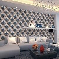 Luxury 3D Mosaic Wallpaper Modern Stereo 3D Wallpaper Living Room Bedroom TV Background Wallpaper Fashion Wall