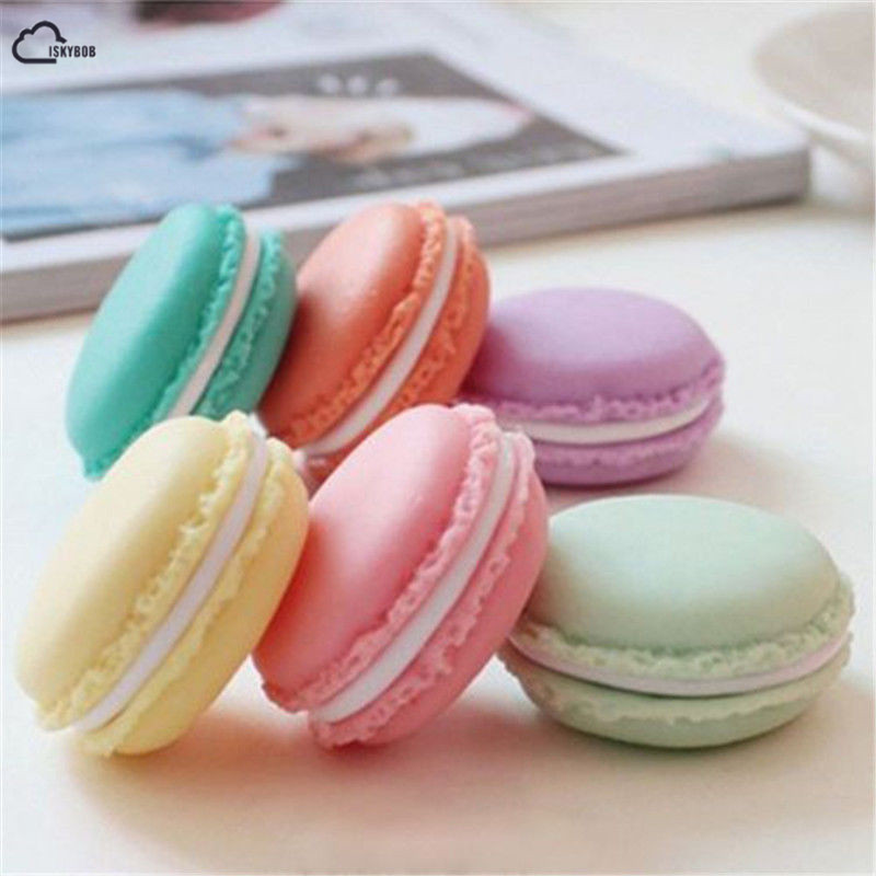 New Hot Sell 4 Color Mini Macarons Box For Jewelry Earring Ring Outing Storage Boxes Free Shipping