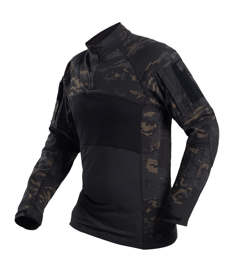 HTB1mqabehTpK1RjSZFMq6zG VXad - Military Mens Camouflage Tactical T Shirt Long Sleeve Brand Cotton Breathable Combat Frog shirt Men Training Shirts S-3XL AF112