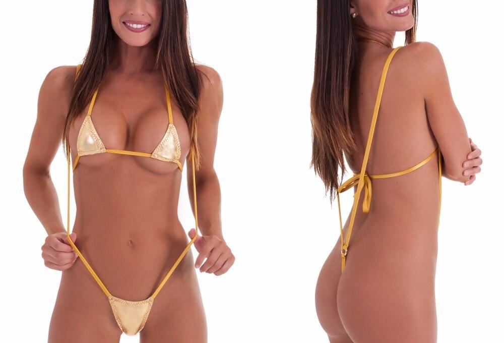 девушка в желтых мини стринги подруга два года