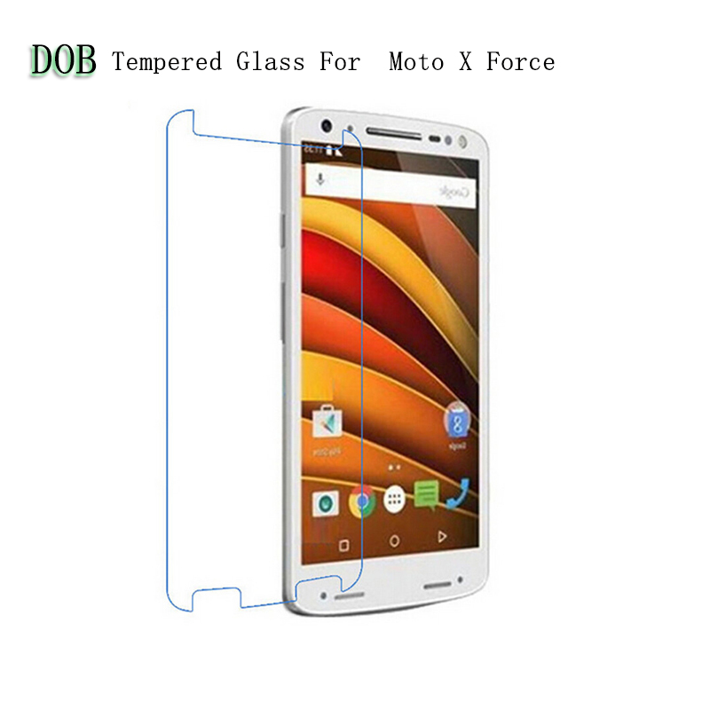 9H 0.26mm 2.5D Rounded Edges Screen Protector For Motorola MOTO X Force  Amazing H+Pro Anti-Explosion X Force Tempered Glass