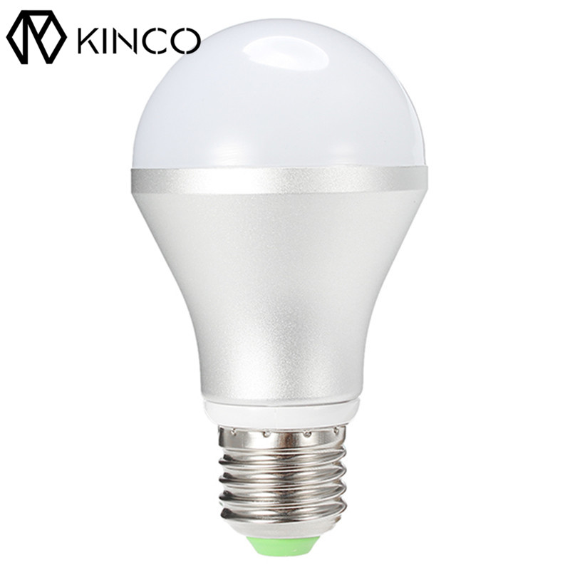 Newest !! Hot Sale E27 6W Dimmable White Natural White Warm White LED Smart Light Bulb AC85-265V with Remote Control Smart Home