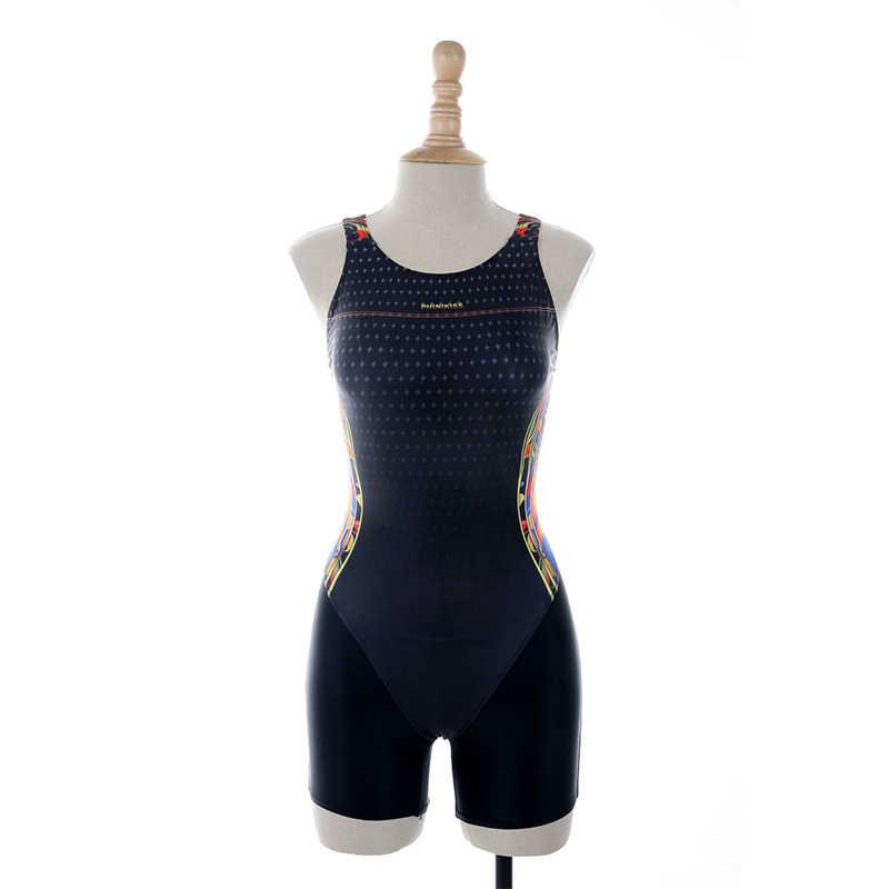 Phinikiss Wanita Profesional Pakaian Renang Baju Renang Olahraga One Piece Baju Kompetisi Balap Atletik Bodysuit Wanita 10002