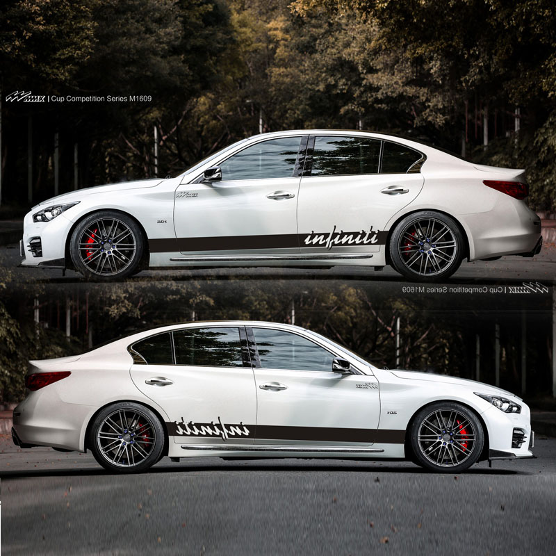 TAIYAO car styling sport car sticker For Infiniti Q50 Q60 Q70 Mark Levinson car accessories and
