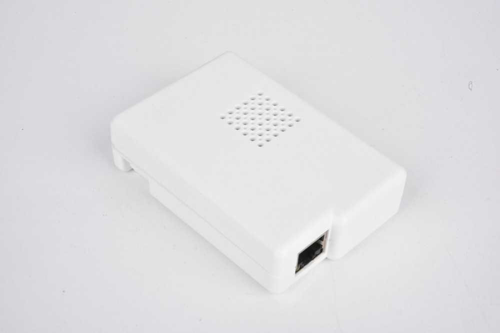 Latest Raspberry Pi 3  Model B With White  Closed  Case