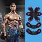 ★  Аккумуляторная Вибрация Тренажер для мышц брюшного пресса Машина для похудения Сжигание жира Фитнес  ①