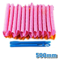 Plastic hair rollers curlers straight length 2.5cm 40pcs medium size hair curlers with 2pcs hooks,household styling tools Hot