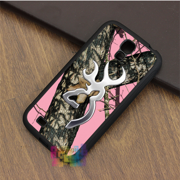 the Tree Browning Cutter Logo Pink Camo case for samsung galaxy S3 S4 S5 S6 S6 edge S7 S7 edge Note 3 Note 4 Note 5
