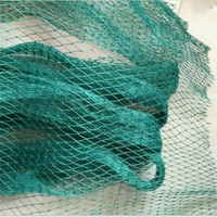 5m *3m Garden fence mesh Green color Safety poultry and pets Simple and convenient fence Fishing net Gardening net