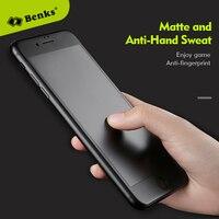 Benks 유리 3D 곡선 커버 보호 필름 아이폰 X 유리 매트 강화 유리 아이폰 8 7 6 6 초 플러스 화면 보호