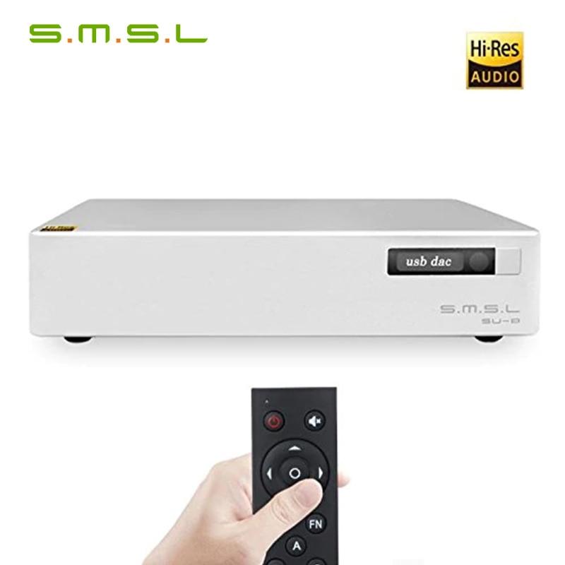 SMSL SU-8 ES9038Q2M * 2 32bit/768 kHz DSD512 DAC USB/Optical/Coaxial Decodificador Su8