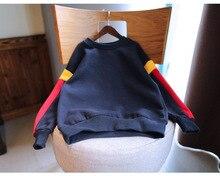 Retail 2016 Autumn baby girls hoodies,Children outerwearAdd wool turtleneck Kids Clothes/Sweatshirt/ Winter Coat HB10745