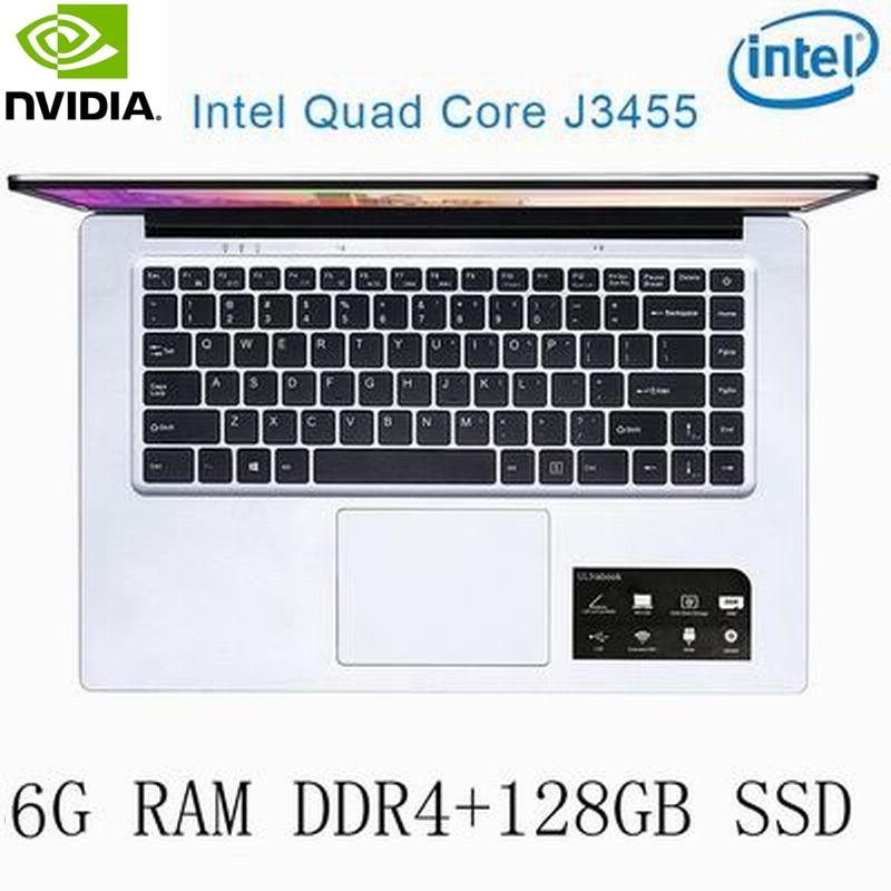 מחשב נייד P2-24 6G RAM 128g SSD Intel Celeron J3455 NVIDIA GeForce 940M מקלדת מחשב נייד גיימינג ו OS שפה זמינה עבור לבחור (1)