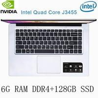 עבור לבחור P2-24 6G RAM 128g SSD Intel Celeron J3455 NVIDIA GeForce 940M מקלדת מחשב נייד גיימינג ו OS שפה זמינה עבור לבחור (1)