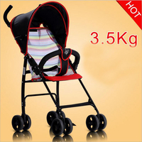 2018 new 3.5KG summer light baby stroller can sit folding baby stroller suitable for 0 3 years old baby use factory direct