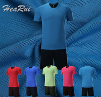 2017 Men Soccer Jerseys Set Youth Survetement Football Kits Boys Child Futbol Training Suit Breathable Maillot