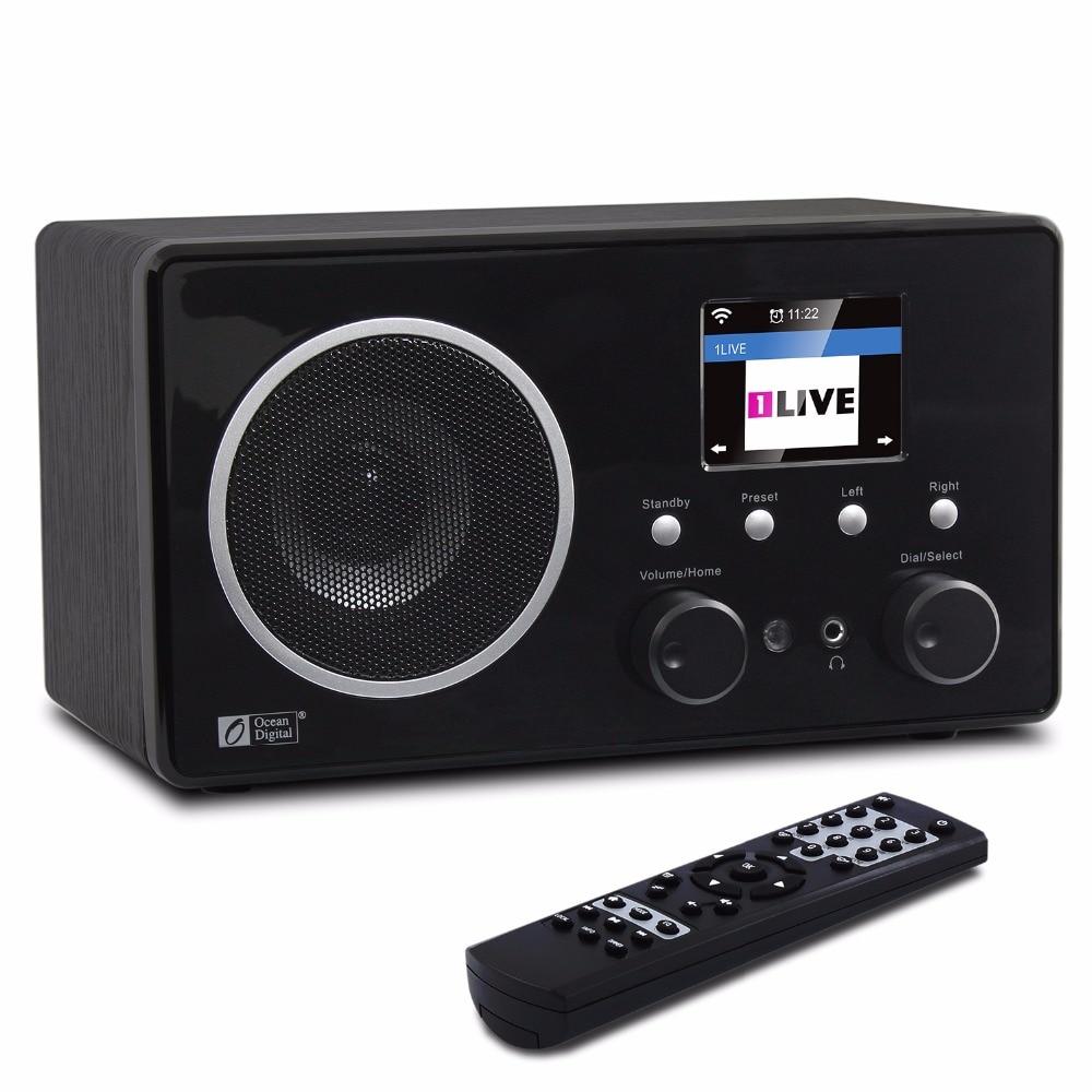 O-007 Ocean Digital WR-282CD Internet Radio Wireless WiFi Broadcast Radio with Bluetooth DAB+FM Remote цена