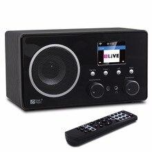 Wi-Fi/DAB +/fm-радио океан цифровой WR-282CD Интернет WiFi DAB радио Bluetooth многоязычное меню Будильник Радио пульт дистанционного управления