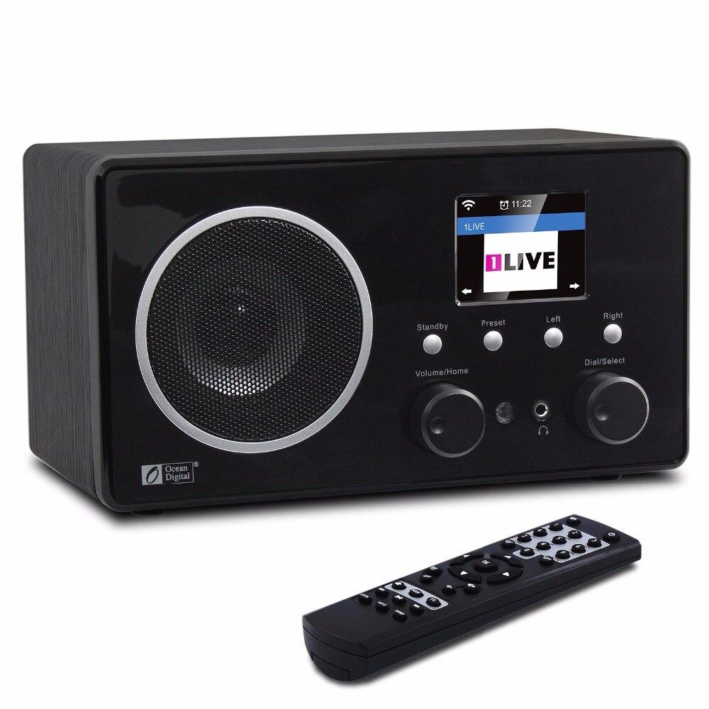 WiFi/DAB +/FM Radio Oceano Digitale WR-282CD Internet WiFi DAB Radio Bluetooth Multi-lingua del Menu di Allarme orologio Radio A Distanza