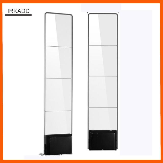 Dual RF8 2Mhz acrylic eas system with sound and light shop security alarm  retail systems