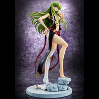 21cm Code Geass: Lelouch of the Rebellion Anime Figure Sexy Character CC Action Figure PVC Doll Collection Model Toys Gift