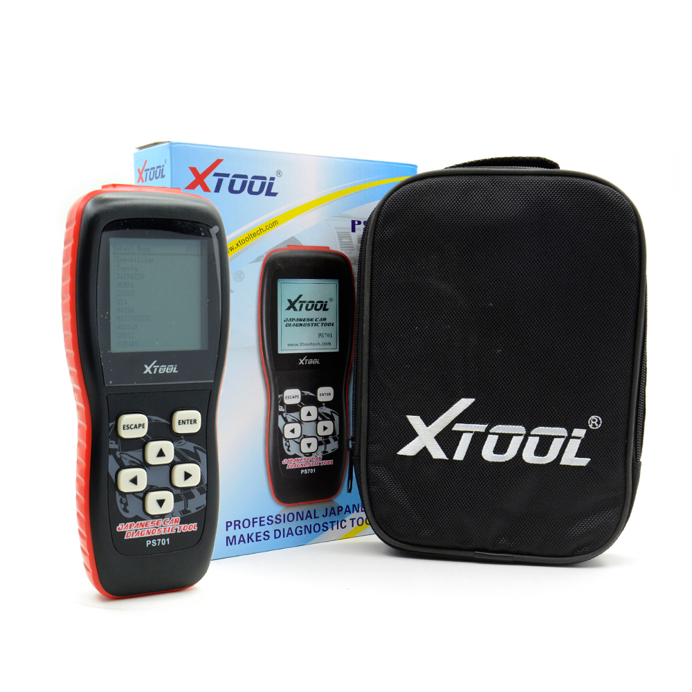 2016 Top-Rated Original Xtool PS701 JP Diagnostic Tool PS 701 OBD2 Diagnostic for Japan Cars Scanner by Fast Express Shipping