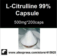 99% L- Citrulline supplements Powder Capsule 500mg*500caps Nutrition Sports Supplements For Men Fitness Health Care Plant Viagra