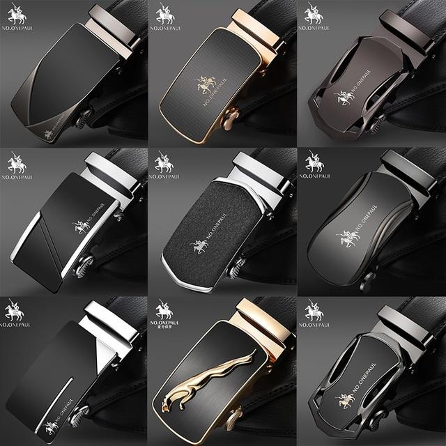Luxury brand Male Genuine Leather Strap Belts 3