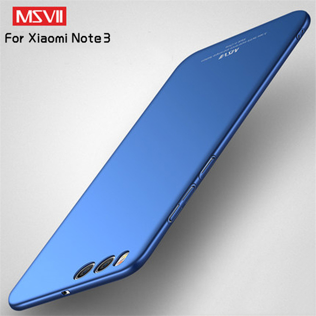 Msvii For Xiaomi Mi Note 3 Case Cover For Mi Note 3 Case Luxury Utral Thin PC Hard Protective Back Phone Case For Xiaomi Note 3