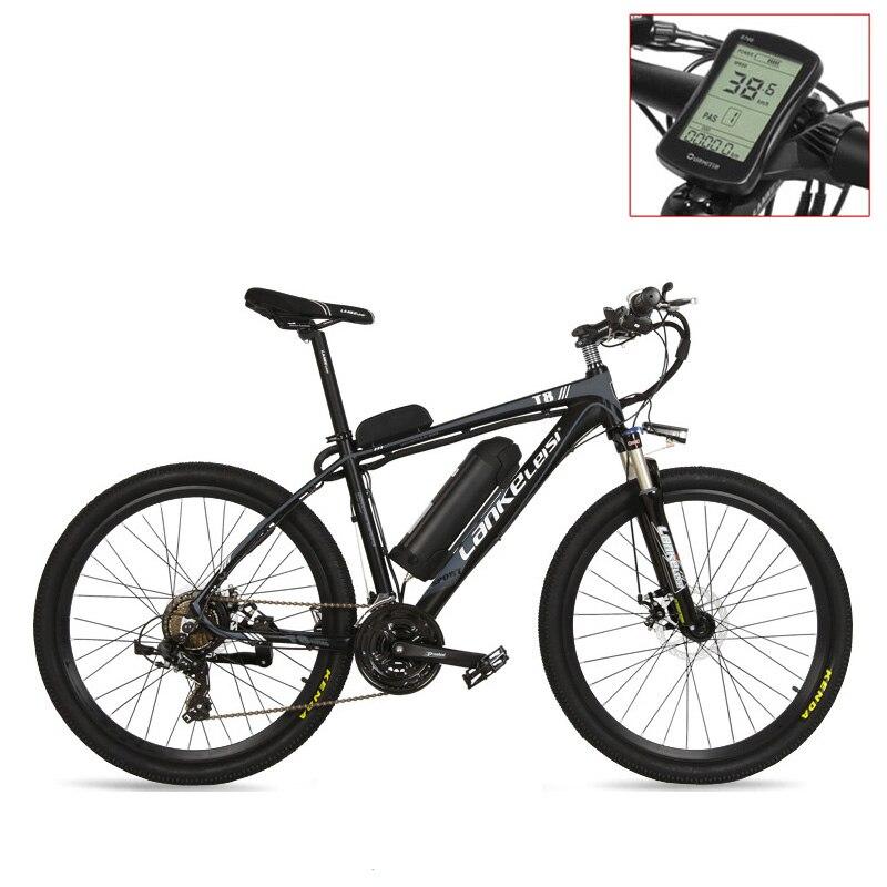T8 сильный Мощный электрический велосипед, высокое качество MTB Электрический горный велосипед, принять подвесную вилку