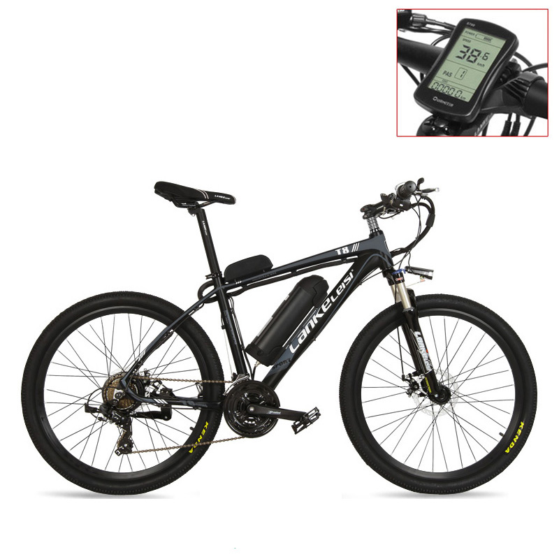 T8 Strong Powerful Electric Bike Bicycle, High Quality MTB Electric Mountain Bike, Adopt Suspension Fork
