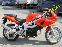 Лидер продаж, для Suzuki SV400 SV650 98 99 00 01 02 SV 400 SV 650 1998 1999 2000 2001 2002 оранжевый неоригинальный обтекатель на мотоцикл комплект