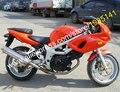 Hot Sales,For Suzuki SV400 SV650 98 99 00 01 02 SV 400 SV 650 1998 1999 2000 2001 2002 Orange Aftermarket Motorbike Fairing Kit