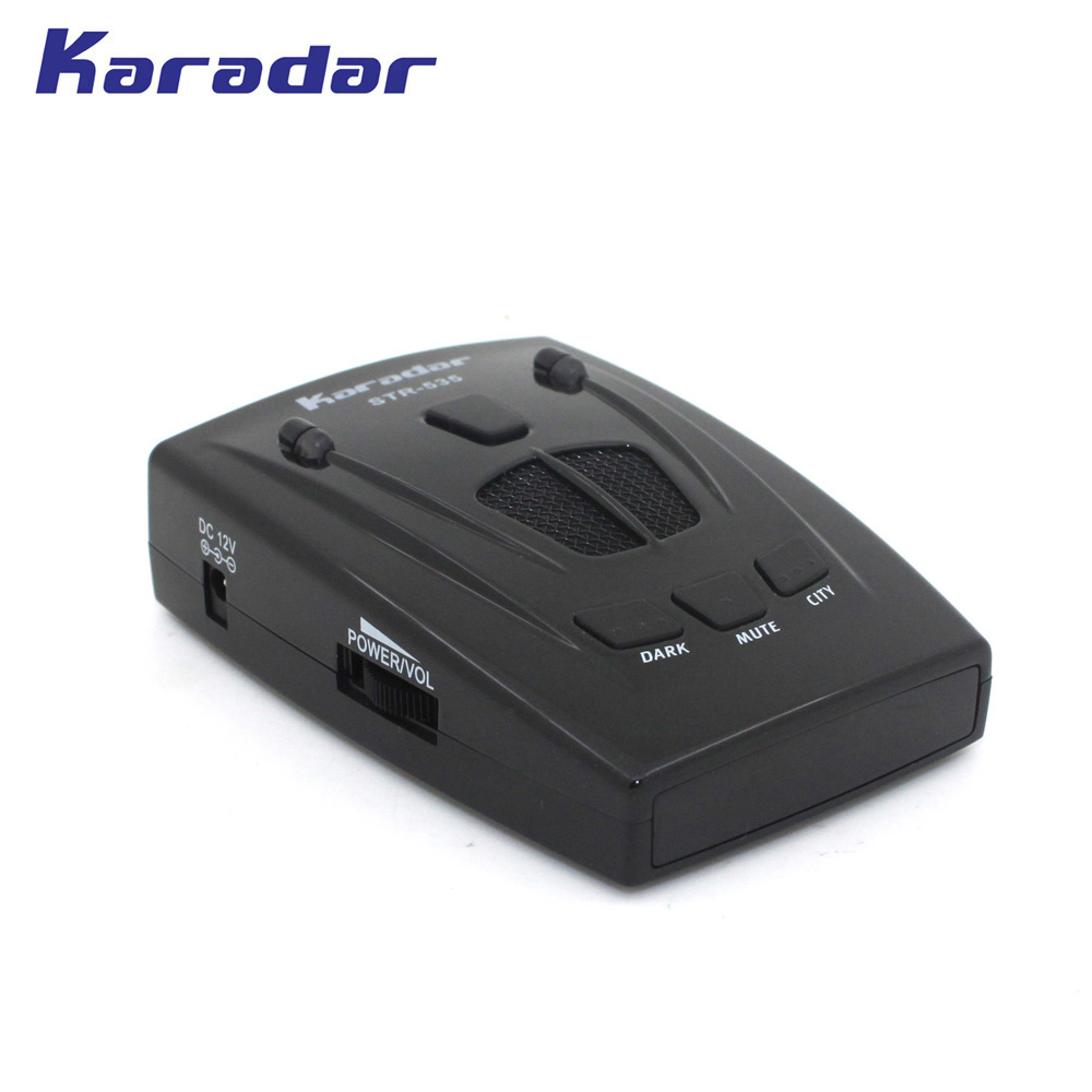 KARADAR Car Radar Detector with Icon Display Anti Strelka Radar Detector Russian Voice Car Radar Detector Free Shipping 2017 new car radar detector str535 car anti radar detector with laser warning vehicle speed control detector free shipping
