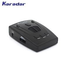 جهاز كاشف رادار السيارة KARADAR مع شاشة عرض رمز مضاد للرادار Strelka جهاز كاشف رادار للسيارة صوت روسي شحن مجاني