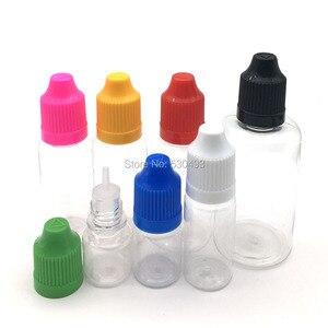 Image 5 - 5 قطعة قطارة واضحة زجاجة 3 مللي 5 مللي 10 مللي 15 مللي 20 مللي 30 مللي 50 مللي E زجاجة سوائل العين السائل القطارة إعادة الملء زجاجة