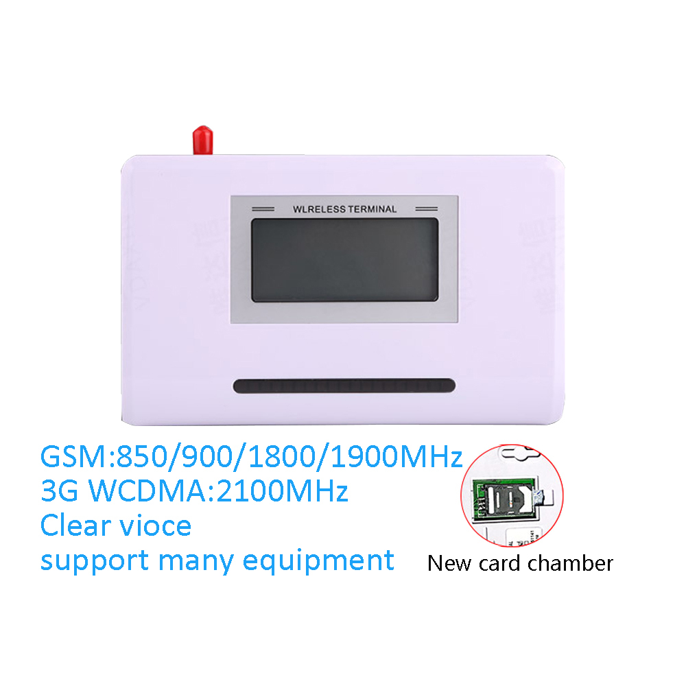 1 set 3G WCDMA 2100MHz FWT Wireless Fixed GSM Terminal Quad Band SIM Card Interchange