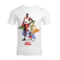 Micheal Jordan Michael Jackson Macaulay Culkin camiseta bombo vintage VTG retro Bugs Bunny Camiseta Rey del pop top tee camisa de tiro