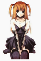 Death Note Misa Amane Cosplay Costume Free Shipping for Hallween and Christmas