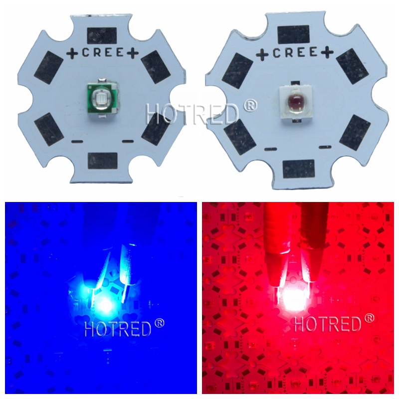 3W 3535 Royal Blue 450nm Deep Red 660nm Plant Grow LED light Epileds Led Emitter Light for indoor garden plant Grow Aquarium цена