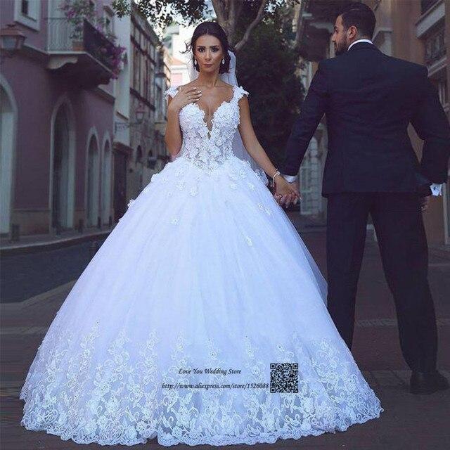 princesa árabe vestidos de novia pavo vintage encaje vestidos de