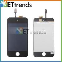 10PCS 100 Original For IPod Touch 4 4th LCD Digitizer Assembly Complete Screen In Black White