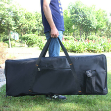 New wholesale professional  portable 76 keyboard bag electric piano organ padded case gig soft cover durable waterproof package