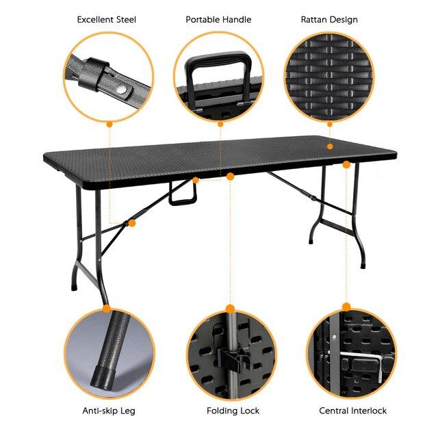 6FT Folding  Picnic Table  2